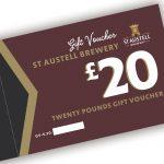 St Austell Brewery £20.00 voucher