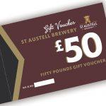 St Austell Brewery £50.00 voucher