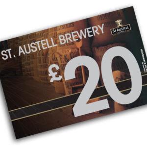 £20 St Austell Brewery Gift Voucher