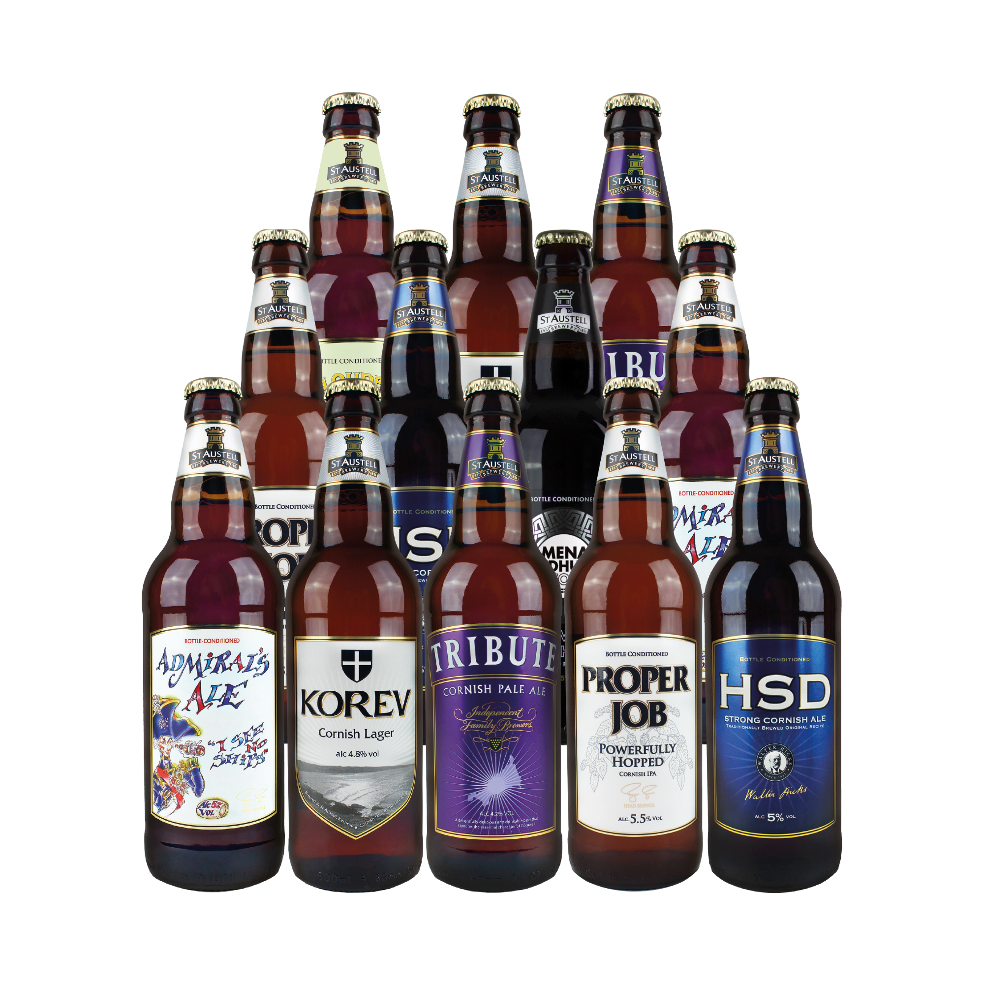 St Austell Brewery Mixed Beers Case