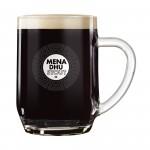 Mena Dhu Cornish Stout Pint Glass