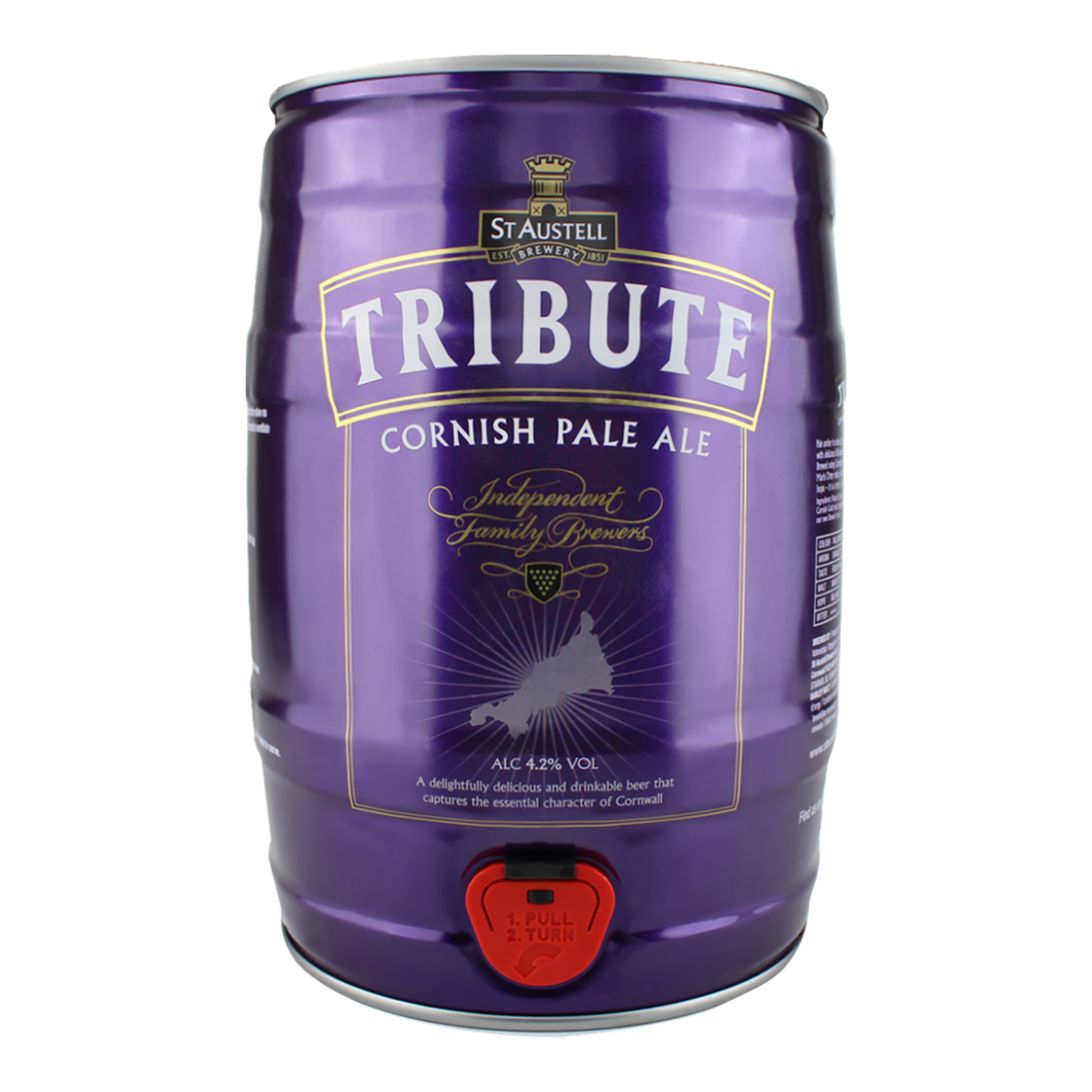 Tribute 5 Litre Mini Keg