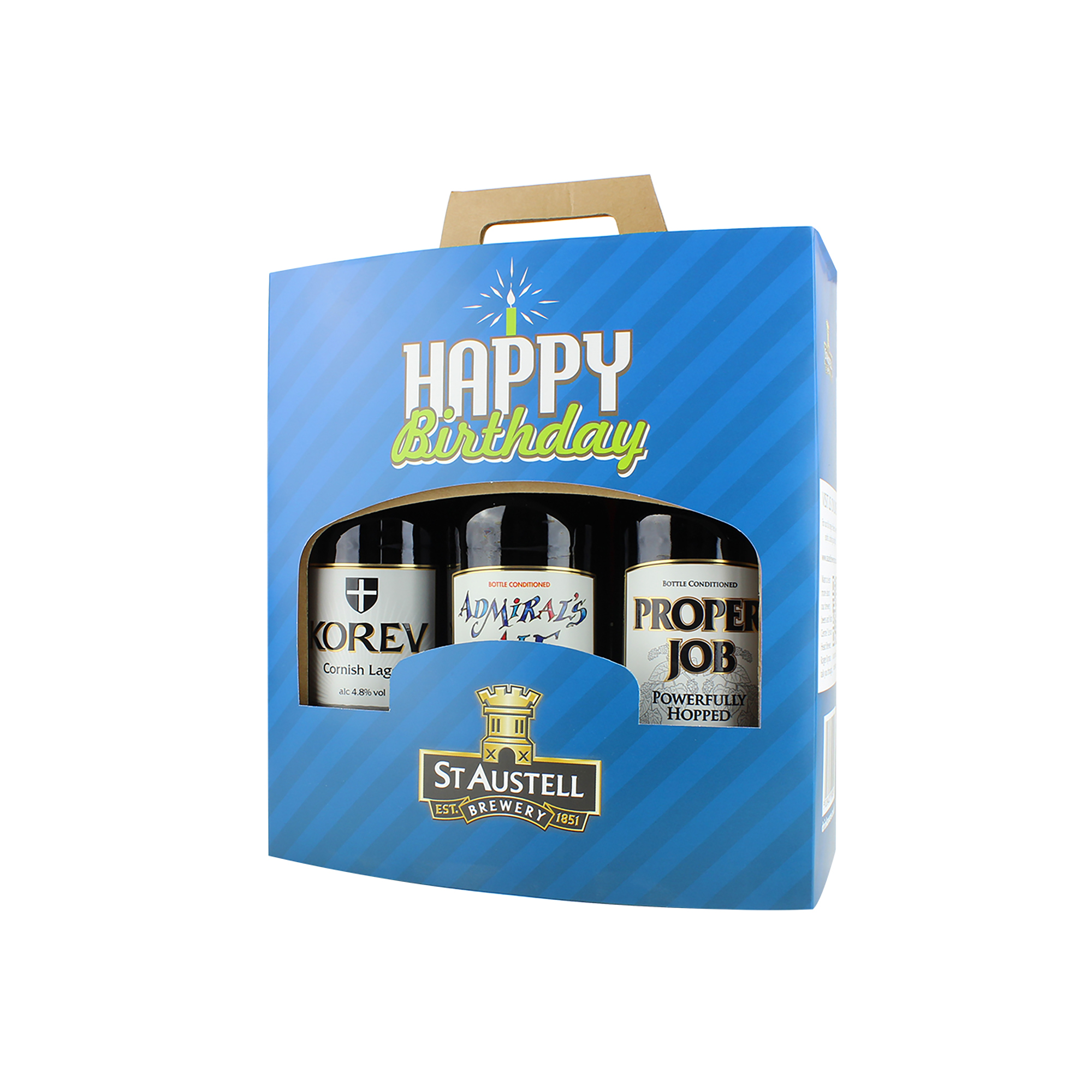 Happy Birthday Three Bottle Gift Pack