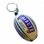Tribute Rugby Ball Keyring