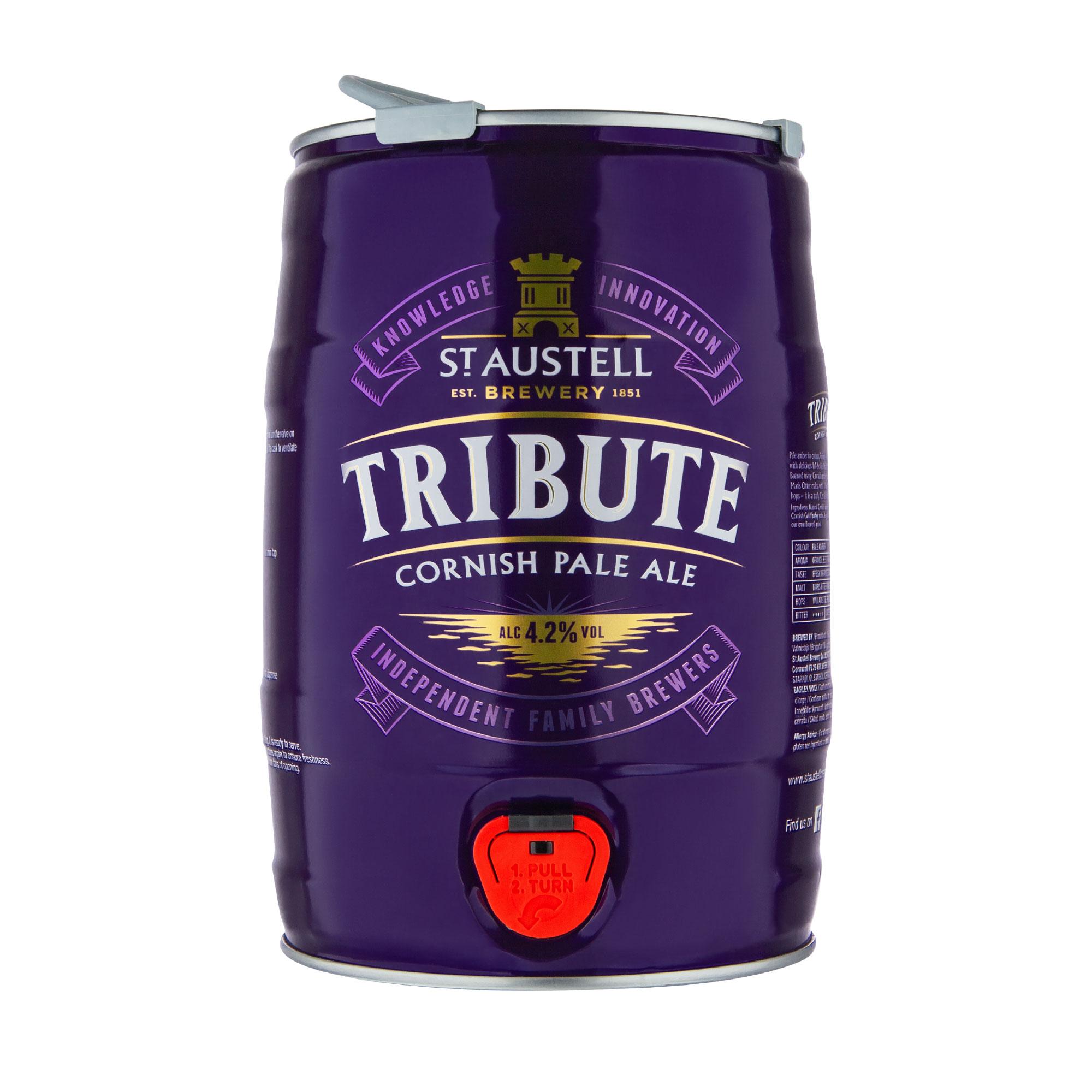 Tribute mini keg