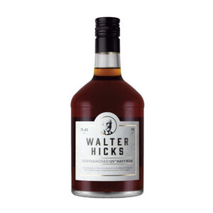 Walter Hicks 125 Navy Rum, 70cl