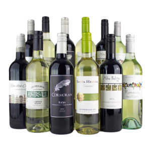 12 Bottle Red and White Wine Mixed Case