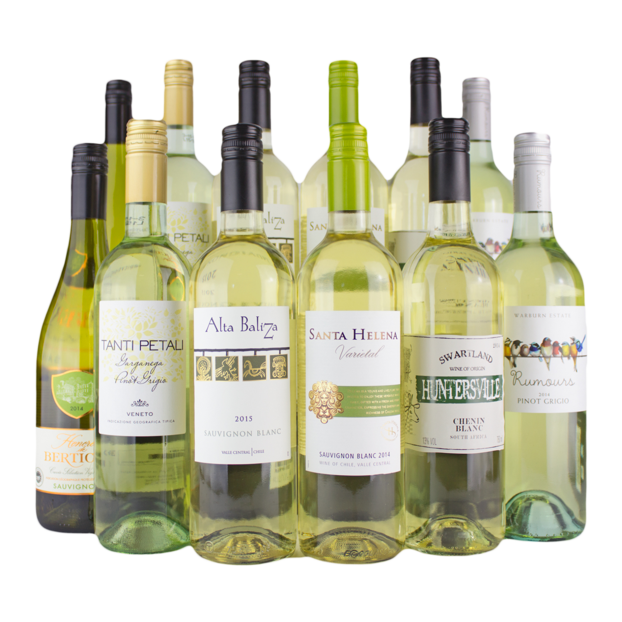 12 Bottle White Wine Mixed Case