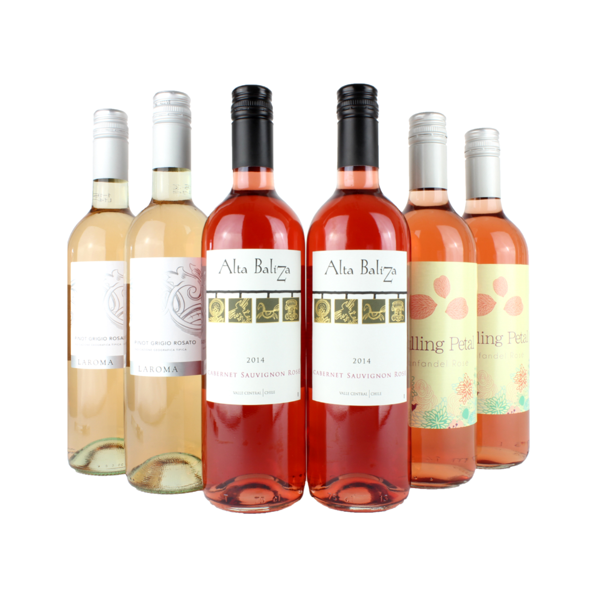 6 Bottle Rosé Wine Mixed Case