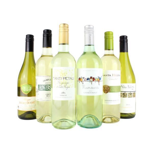 6 Bottle White Wine Mixed Case
