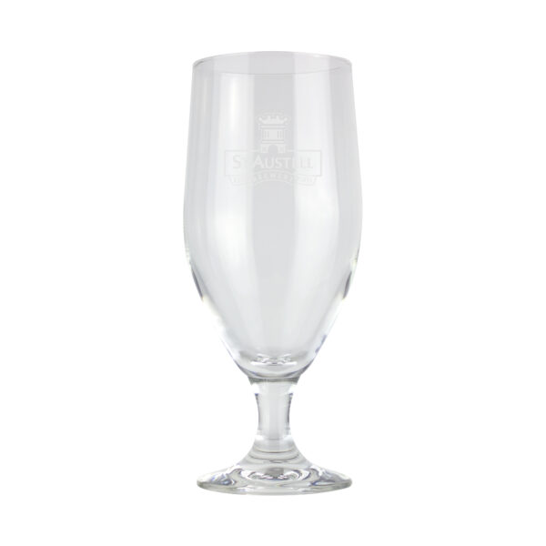 St Austell Brewery Stemmed Glass