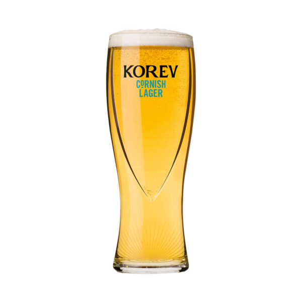 Korev pint glass