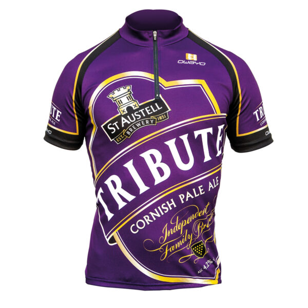 Tribute cycling jersey