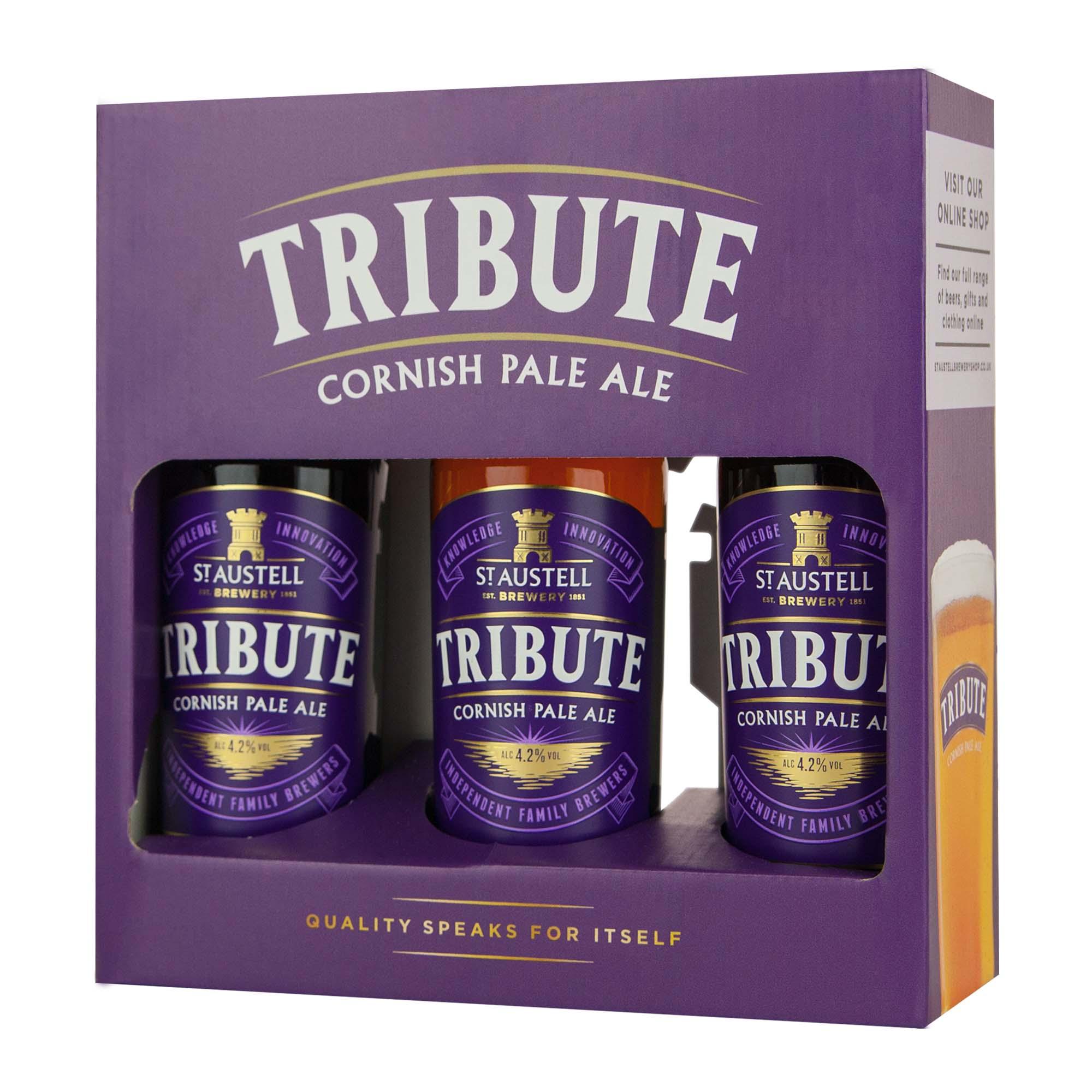 Tribute 3 bottle pack