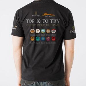Celtic Beer Festival Commemorative T-shirt 2017