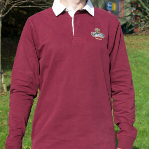 Burgundy Rugby Jersey