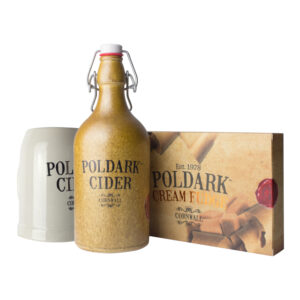 Poldark Cider, Tankard and Cream Fudge
