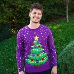 Tribute Christmas jumper