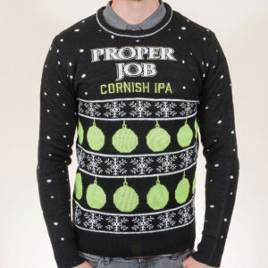 3cbb7bd91d9 Proper Job Christmas Jumper ...