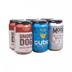 Mixed pack of cans