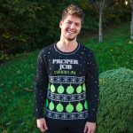 Proper Job Christmas jumper