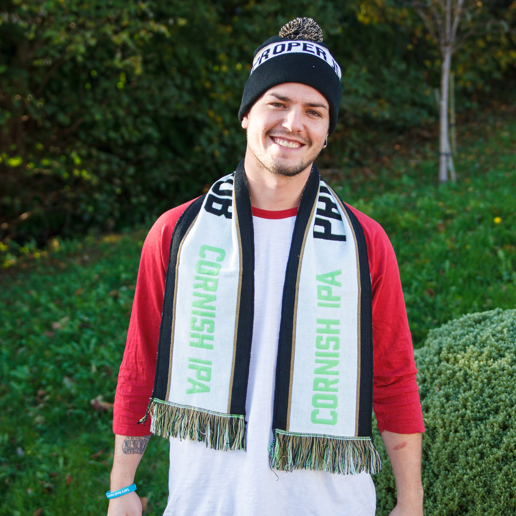 Proper Job Hat and Scarf