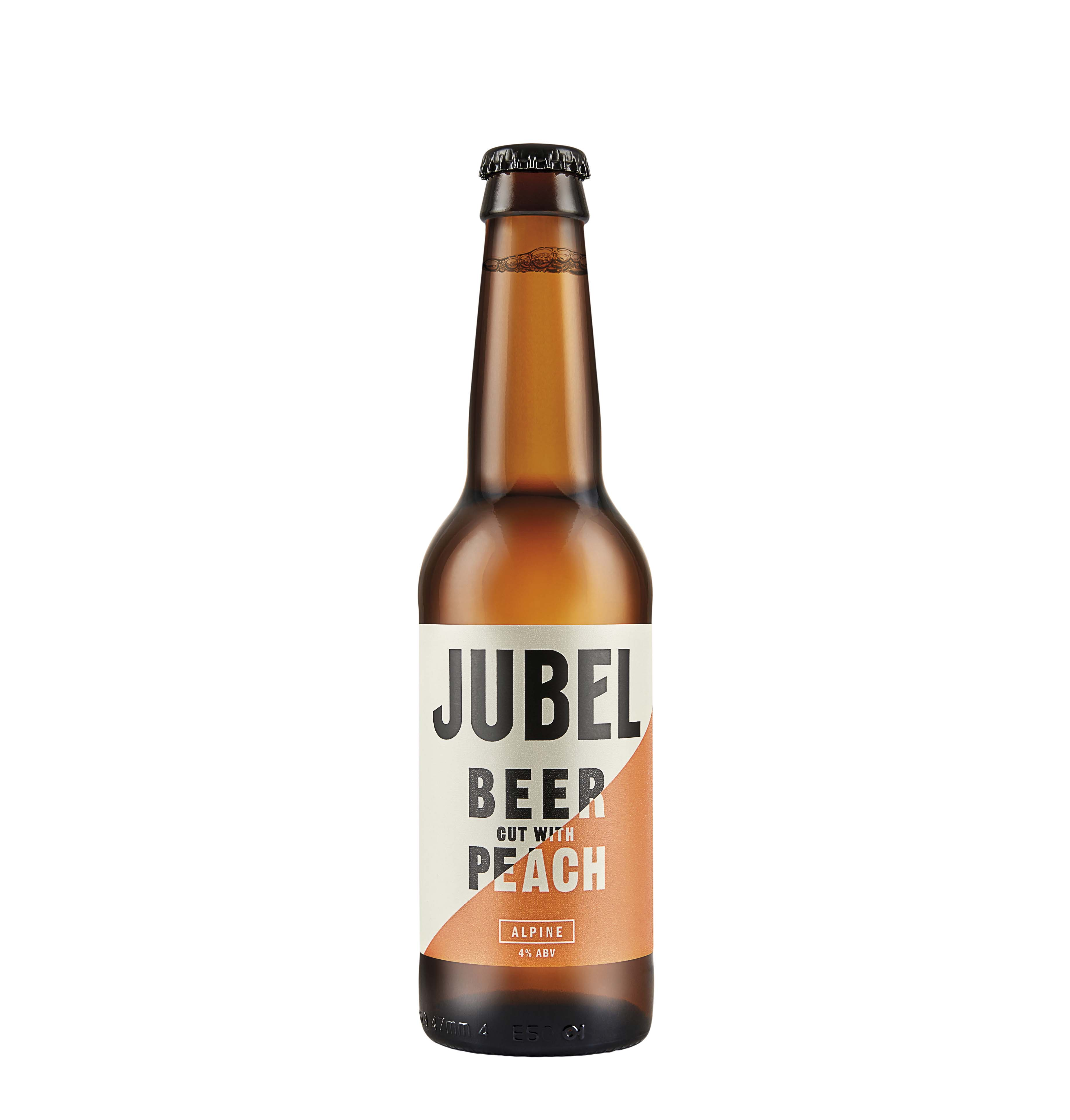 Jubel Peach Beer – available to buy on St Austell Brewery Shop
