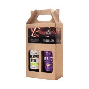 Tribute & Proper Job Personalised Chocolate Gift Pack