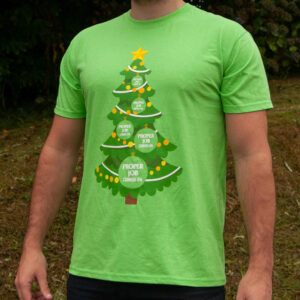Proper festive T-shirt