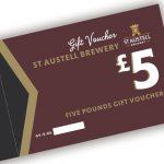£5.00 St Austell Brewery Voucher