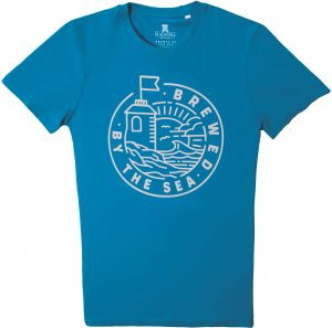 Mens Brewed By The Sea T Shirts