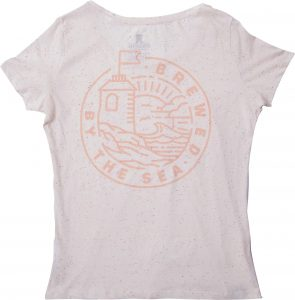 Brewed By The Sea Woman's T Shirt