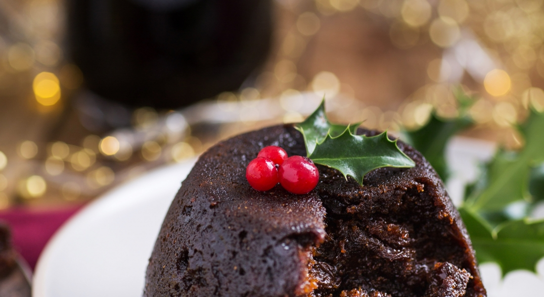 Mena Dhu Christmas Pudding