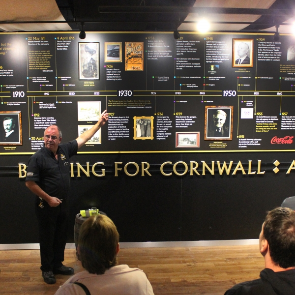 St Austell Brewery Tour