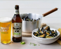 Jack Stein's recipe for Proper Job mussels with cabbage and bacon